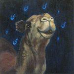 mehran zirak-peinture chameau